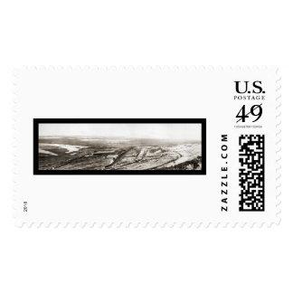 Utah Copper Mine Photo 1910 Postage Stamp