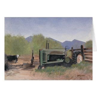 Utah County Farm Note Card