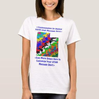 Utah Customizable Colorful T-Shirt - Customize