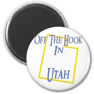 Utah - del gancho imán redondo 5 cm