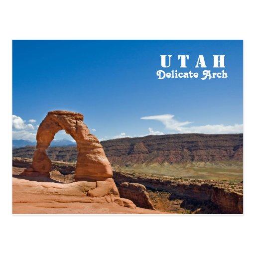 Utah Delicate Arch Post Card