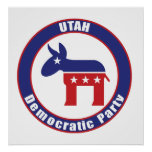 Utah Democratic Party Posters