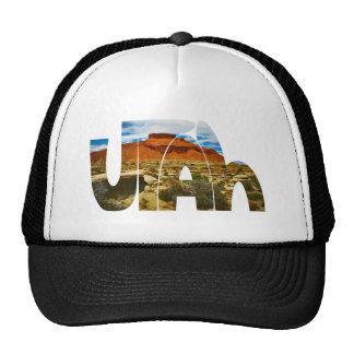 Utah desert logo trucker hat