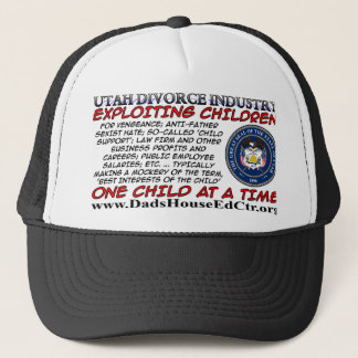 Utah Divorce Industry.. Trucker Hat