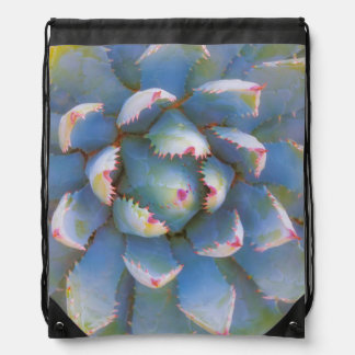 Utah, Dixie National Forest. Close-up of yucca Drawstring Backpack