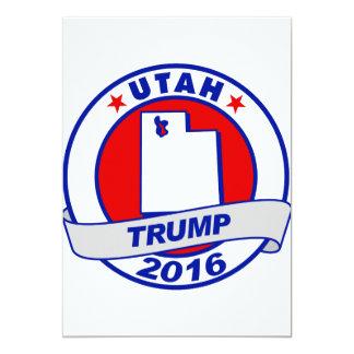 "Utah Donald Trump 2016.png Invitación 5"" X 7"""