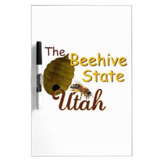 UTAH Dry-Erase WHITEBOARD