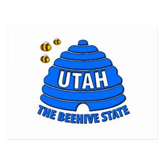 Utah: El estado de la colmena Tarjeta Postal