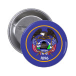 Utah Flag Button
