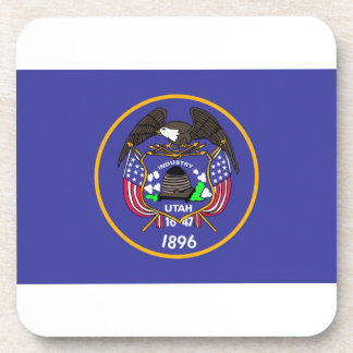 Utah Flag Drink Coaster