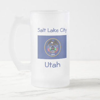 Utah Flag Map City Mug