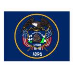 Utah Flag Postcard