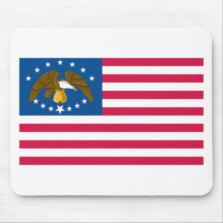 Utah Flag T-Shirts (1851-1860) Mouse Pad