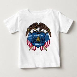 Utah Flag Theme 00 Baby T-Shirt