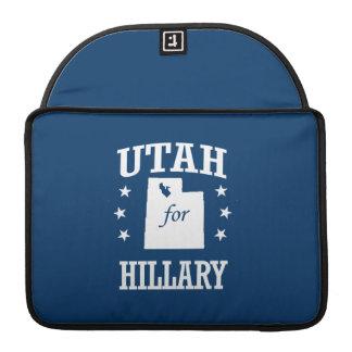 UTAH FOR HILLARY SLEEVES FOR MacBooks