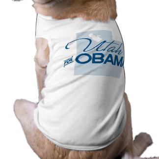 Utah for Obama.png Dog Tee Shirt