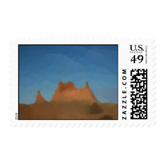 Utah Formations Postage
