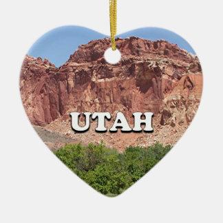 Utah: Fruita, Capitol Reef National Park, USA Ceramic Ornament