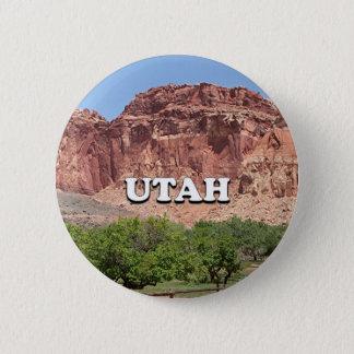 Utah: Fruita, Capitol Reef National Park, USA Pinback Button