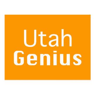 Utah Genius Gifts Postcard