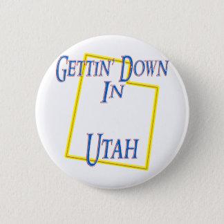 Utah - Gettin' Down Button