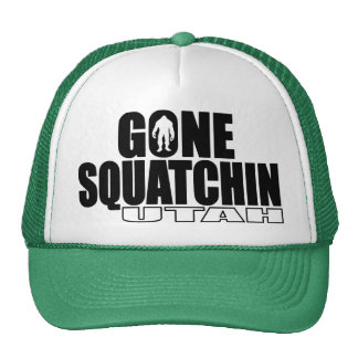 UTAH Gone Squatchin - Original Bobo Trucker Hat
