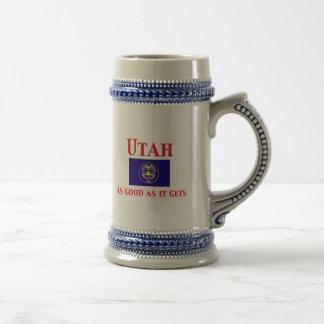 Utah - Good As It Gets Beer Stein