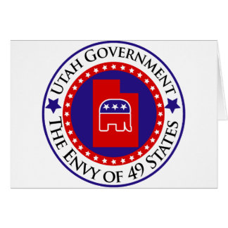 Utah Government: The Envy of 49 States Card