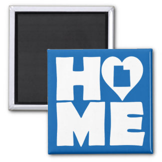 Utah Home Heart State Fridge Magnet