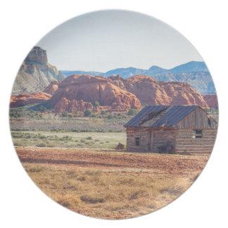 Utah Homestead Plate