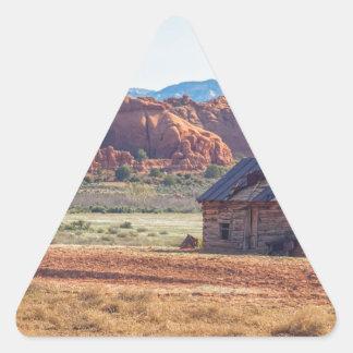 Utah Homestead Triangle Sticker