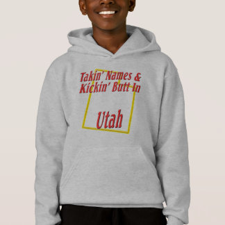 Utah - Kickin' Butt Hoodie