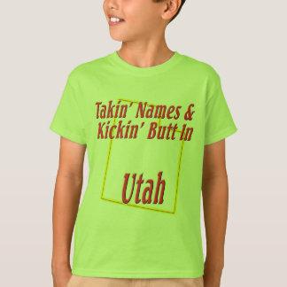 Utah - Kickin' Butt T-Shirt