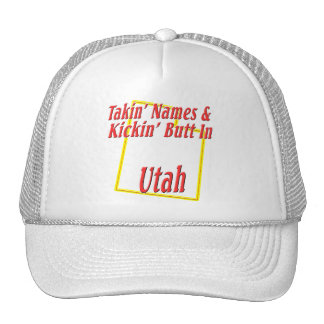 Utah - Kickin' Butt Trucker Hat