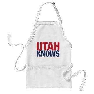 Utah Knows Adult Apron