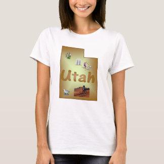 Utah Ladies Baby Doll T-Shirt