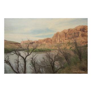 Utah Landscape Wood Wall Art