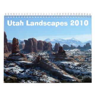 Utah Landscapes 2010 Calendar