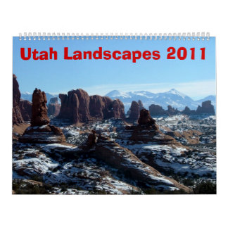 Utah Landscapes 2011 Calendar