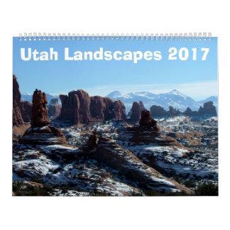 Utah Landscapes 2017 Calendar