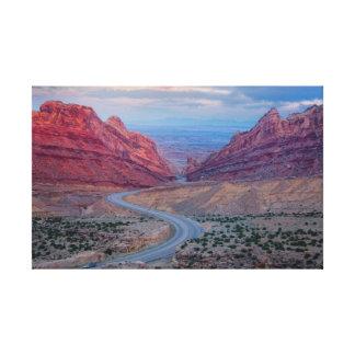 Utah Impresión En Lona Estirada