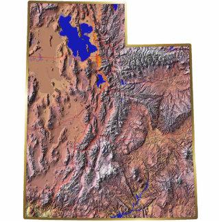Utah Map Magnet Cut Out