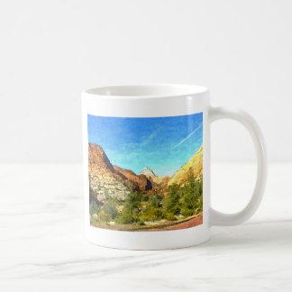 Utah meridional Vista Taza De Café