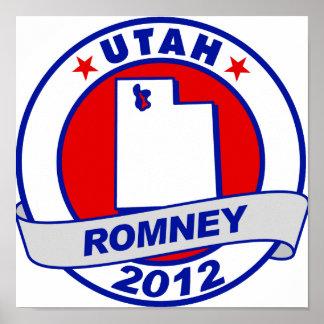 Utah Mitt Romney Poster