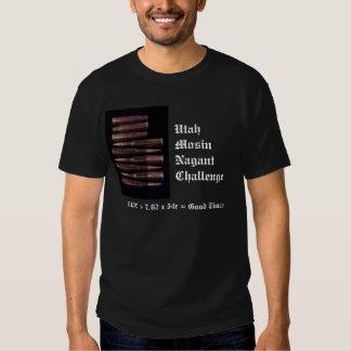 Utah Mosin Nagant Challenge w/logo T-Shirt
