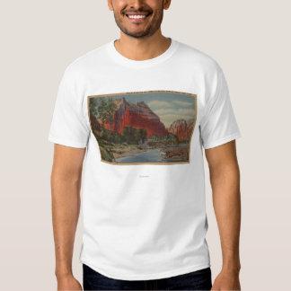 Utah - Mount Majestic & Angel's Landing T-Shirt