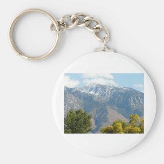 utah mountains keychain