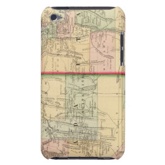 Utah, Nevada Map by Mitchell iPod Touch Covers
