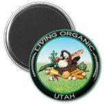 Utah orgánico imán para frigorifico