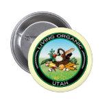 Utah orgánico pins